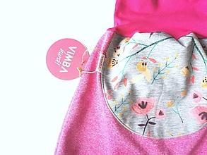 """Detské oblečenie - Softshellky """"jarná lúka """" - 13386491_"""