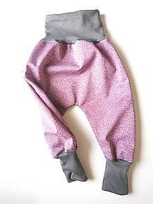 Detské oblečenie - Softshellky bez záplat - 13386502_