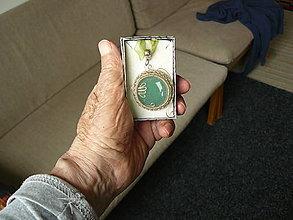 Náhrdelníky - Avanturinovy nahrdelnik. - 13387893_