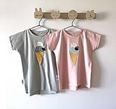 Detské oblečenie - Tričko Zmrzka - 13389694_