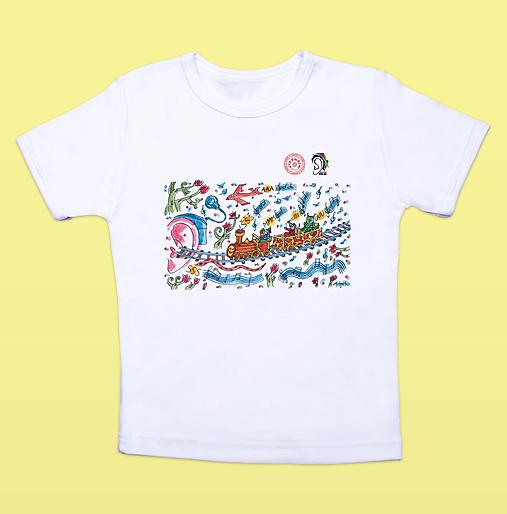 Detské tričko s lingovými zvukmi