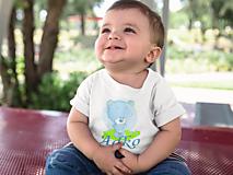 Detské oblečenie - Tričko alebo body s menom  - 13386085_
