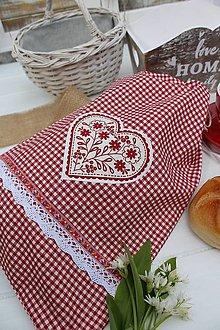Úžitkový textil - Vrecúško na chlieb - 13386006_