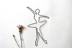 Dekorácie - baletka * 24 cm - 13386734_