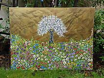 Obrazy - V hojnosti rajskej záhrady - 13388101_