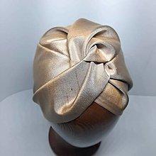 Čiapky - Hodvábny turban - 13388784_