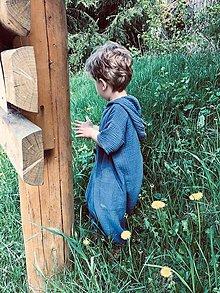 Detské oblečenie - Overal z mušelínu - 13386469_