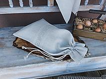 Úžitkový textil - Vrecúško na chlieb Grandma's Story III - 13388031_