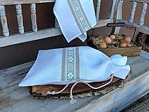 Úžitkový textil - Vrecúško na chlieb Grandma's Story II - 13388062_