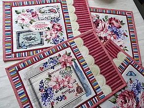 Úžitkový textil - Fragrant Roses... prestieranie - 13391256_