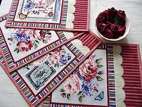 Úžitkový textil - Fragrant Roses... prestieranie - 13391261_