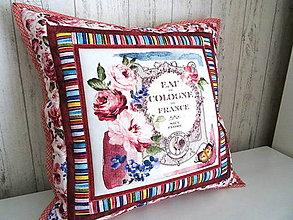 Úžitkový textil - Fragrant Roses... vankúš No.1 - 13391286_
