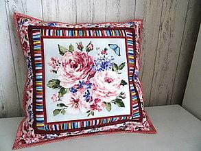 Úžitkový textil - Fragrant Roses... vankúš No.2 - 13391316_