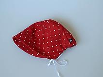 Detské čiapky - Letný detský ľanový čepiec Natália - 13390851_
