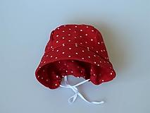 Detské čiapky - Letný detský ľanový čepiec Natália - 13390852_