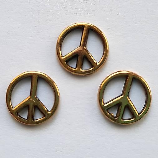 "Medzikus ""Peace""-st.zlatá-1ks"
