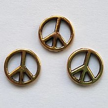 "Komponenty - Medzikus ""Peace""-st.zlatá-1ks - 13391706_"