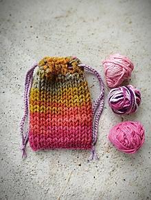 Úžitkový textil - Malé vrecúško na veľké poklady - 13391250_