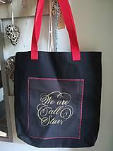 Nákupné tašky - Taška- Všetci sme hviezdy. - 13392387_