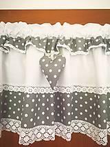 Úžitkový textil - Zaclonky+Podsedak na lavicu REZERVÁCIA - 13390370_