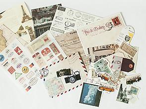 "Papier - Ephemera na tvorenie ""vintage"" - 13390695_"