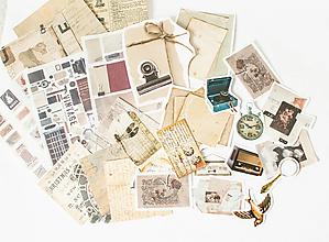 """Papier - Ephemera na tvorenie """"old time"""" - 13390706_"""