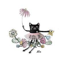 Hračky - Mačička Mia - 13392891_