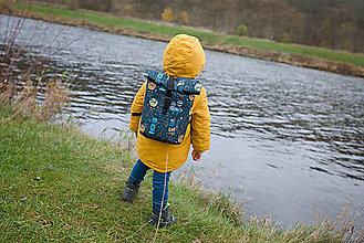 Batohy - Rolovací batoh Roboti - dětský - 13390977_