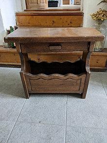 Nábytok - Stolík a stojan na noviny v jednom podľa Vašej predstavy - 13390593_