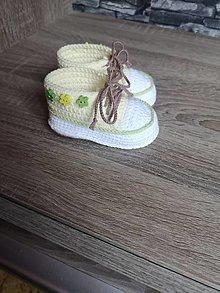 Topánočky - Tenisky pre dievčatko - 13391843_