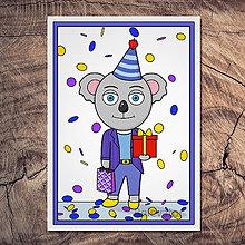 Papiernictvo - Koala pohľadnica - Ernest - 13390809_