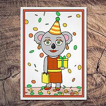 Papiernictvo - Koala pohľadnica - Štefánia - 13390817_