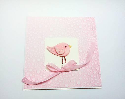 Pohľadnica ... vitaj dievčatko