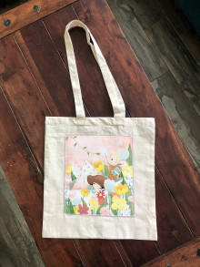 Nákupné tašky - Taška So zajacom do sveta - 13393862_