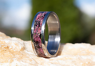 Prstene - Prsteň vres - 13395318_
