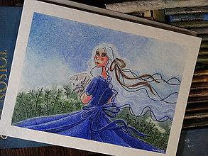 Kresby - Deva so zmejom - 13396188_