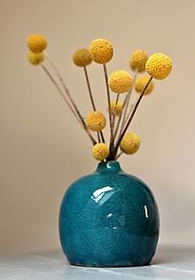 """Dekorácie - Váza """"Turquoise""""  - 13395697_"""