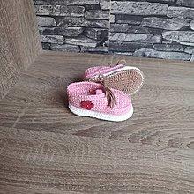 Topánočky - Ružové tenisky - 13395943_