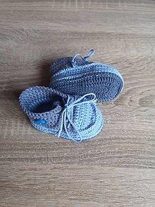 Topánočky - Tenisky s autíčkom - 13396010_