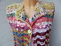Iné oblečenie - vesta s gombíkom - 13396990_
