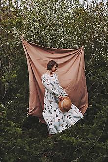 Šaty - Šaty Zima v záhrade - 13399088_