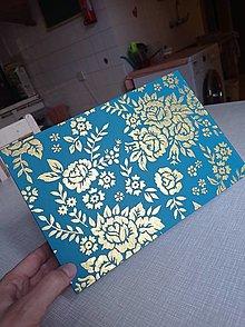 Krabičky - magic box zlaté ruže - 13397552_