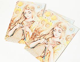 "Papier - Pohľadnica ""Her universe"" - 13399866_"