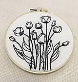 Obrázky - Vyšívané tulipány - 13399449_
