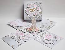 Papiernictvo - Svadobný exploding box - 13399712_