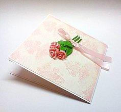 Papiernictvo - Pohľadnica ... kytička - 13403414_
