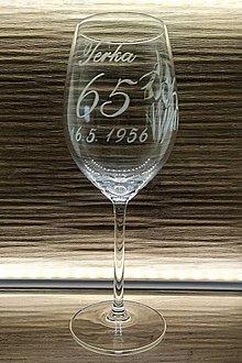 Nádoby - Výročný pohár podľa želania - 13402673_