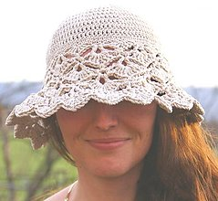 """Čiapky - """"Mary"""" klobúčik - 13402541_"""