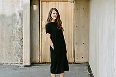 Šaty - Šaty Black Long - 13401070_