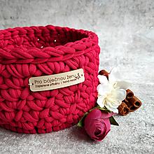 Košíky - Carmine | malý košík pro báječnou ženu - 13401508_